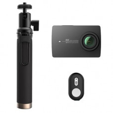 Экшн-камера XIAOMI YI 4K Action Camera KIT (Selfie Stick + Bluetooth Remote) Int.Version (YI-90008)