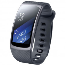Спортивные часы Samsung Gear Fit 2 SM-R3600DAASEK Dark Gray